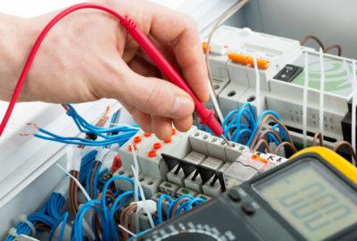 L'ensemble des secteurs de travail de l'électricien