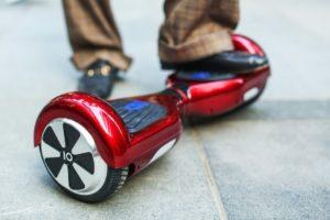 hoverboard, véhicule futuriste