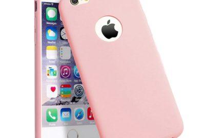 coque de couleur rose