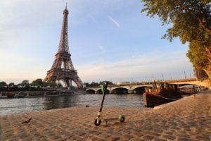 trottinette électrique à Paris