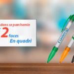 stylo bannière