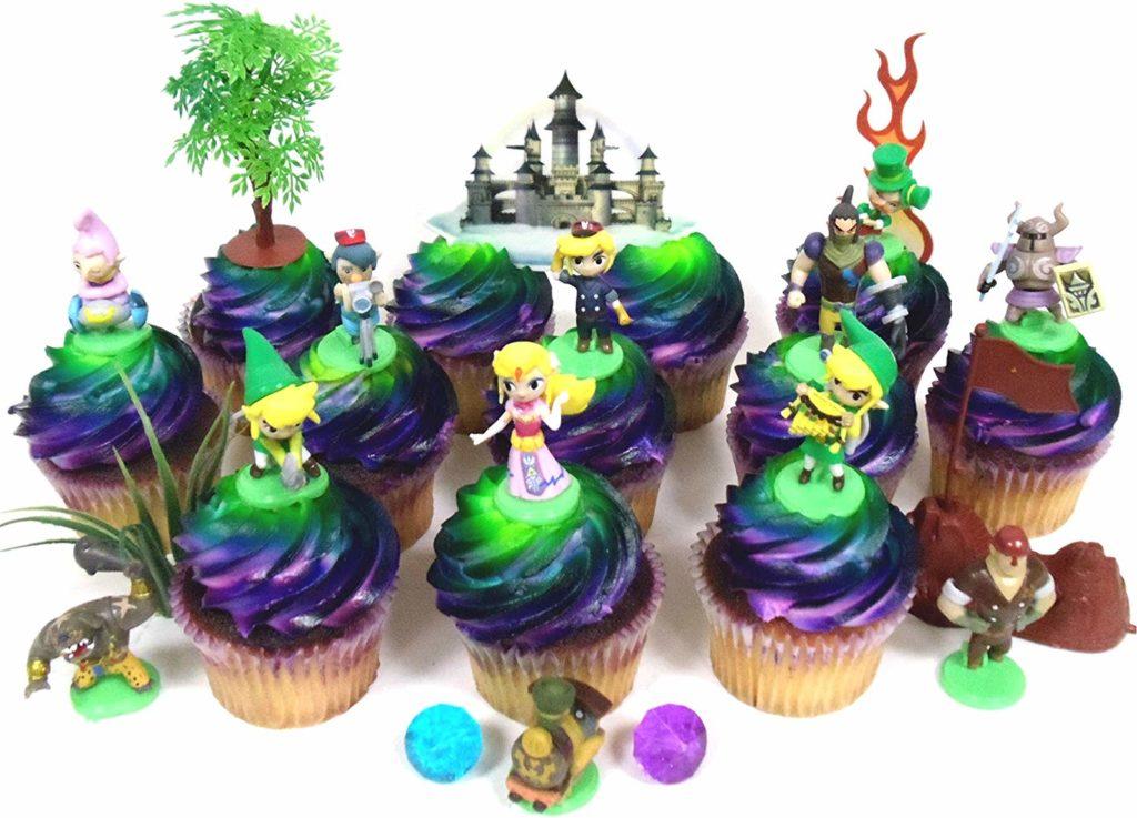 garniture pour gâteau d'anniversaire Zelda