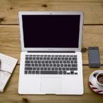 bureau et gadgets modernes