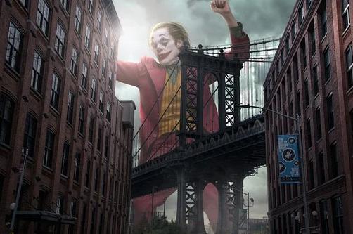 le joker sur gotham